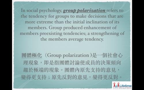 Group-polarisation
